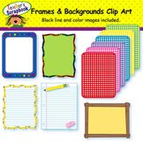 Frames and Backgrounds Clip Art