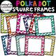 Polka Dot Frames and Clipboards Bundle! {Task cards, frames, and clip art}