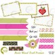 Frames and Tags Clipart, Washi Tape, Card making {Best Teacher Tools} AMB-1810
