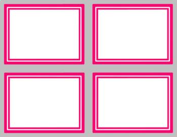 frames and task card template clip art bundle by digi by amy tpt. Black Bedroom Furniture Sets. Home Design Ideas