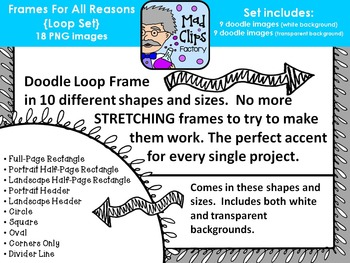 Frames for All Reasons {Loops}