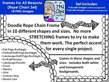 Frames for All Reasons {Rope Chains}