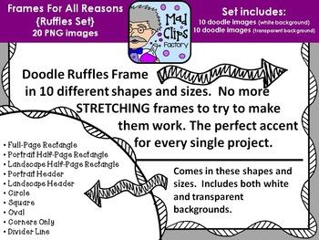 Frames for All Reasons {Ruffles}