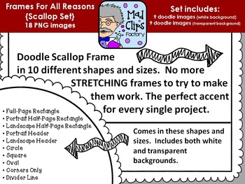 Frames for All Reasons {Scallop}