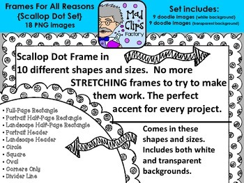 Frames for All Reasons {Scallop Dot}