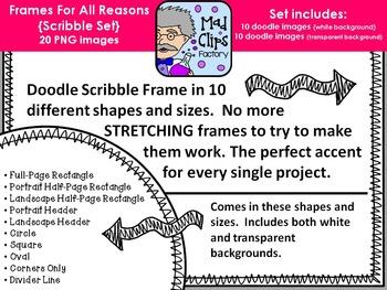 Frames for All Reasons {Scribble}