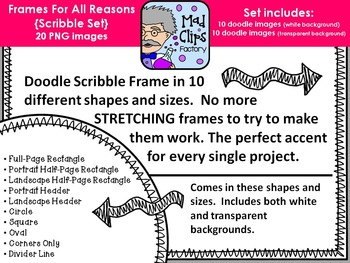 Frames for All Reasons {Scribble}