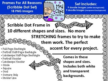 Frames for All Reasons {Scribble Dot}