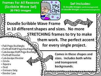 Frames for All Reasons {Scribble Wave}