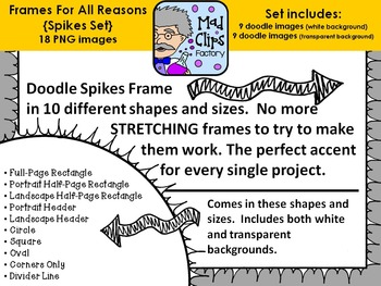 Frames for All Reasons {Spikes}