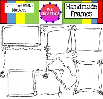 Frames for Covers, Worksheets and Printables