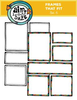Frames that Fit Set 6