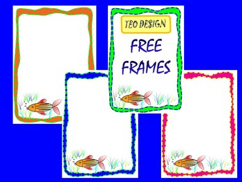 Free Fish Frames - Clip Art -  Free Downloads
