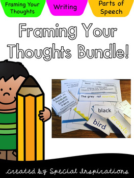 Framing Your Thoughts Activities Bundled (Project Read)