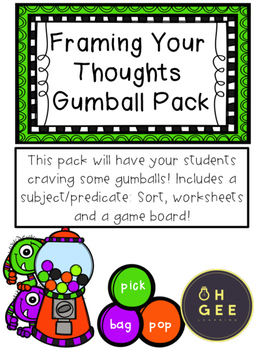 Framing Your Thoughts Gumball