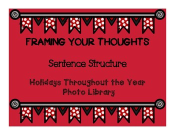 Framing Your Thoughts : Holidays Throughout The Year Photo Library