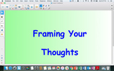 Framing Your Thoughts SmartBoard Lesson #3- Common and Proper Nouns