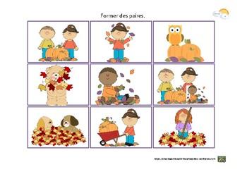 Francais - Activites Automne (3-5ans)
