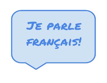 Français English Sign