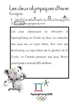 Français // Identification du GN - Olympiques 2018