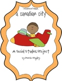 Français - My First Research Project - A Canadian City