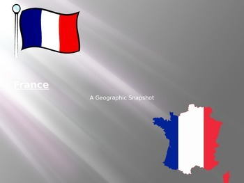 France: A Geographic Snapshot