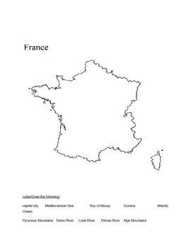 France Activities, Fact Sheet, Discovery Atlas Video Quiz