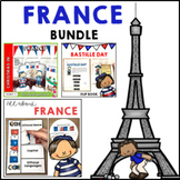 France Bundle Maps and Activities