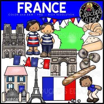France Clip Art Bundle
