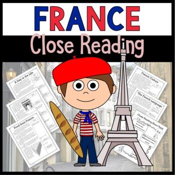 France Close Reading Country Study