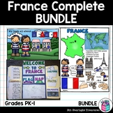 France Complete Country Study for Early Readers - France Country Bundle