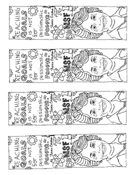 France Cordova Coloring Bookmarks