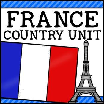 France Country Social Studies Complete Unit