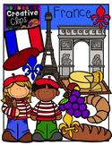 France {Creative Clips Digital Clipart}