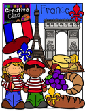 France {Creative Clips Digital Clipart}