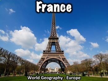 France Geography and History Powerpoint Presentation