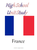 France HighSchool Unit Study