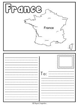 France Booklet Country Study Project Unit