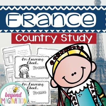 France Country Study | 48 Pages for Differentiated Learnin