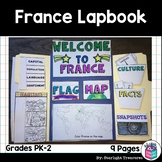 France Lapbook for Early Learners - A Country Study