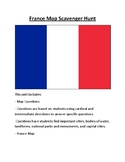 France Map Scavenger Hunt
