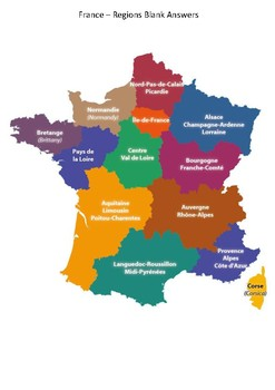 France Maps - Regions & Cities