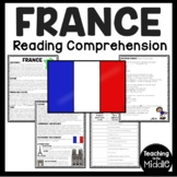 France Overview Reading Comprehension; Countries; Europe