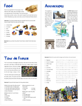 France (Fun stuff for elementary grades)