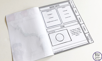 France Research Flip Book
