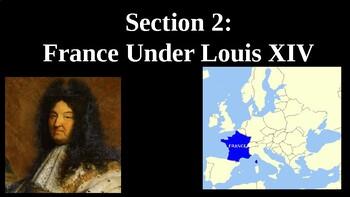 France Under Louis XIV PowerPoint
