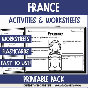 France - Vocabulary Pack