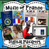 France World Music Digital Passport