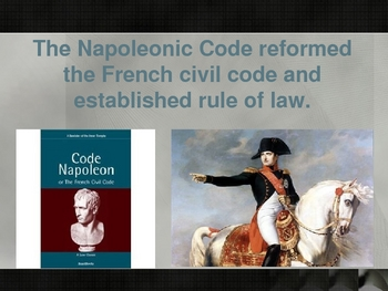 France:  from Napoleon to today powerpoint