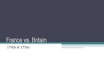 France vs. Britain (1740s - 1750s)